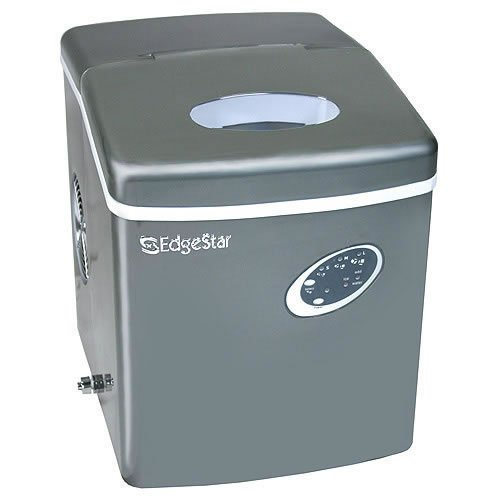 EdgeStar Titanium Portable Ice Maker