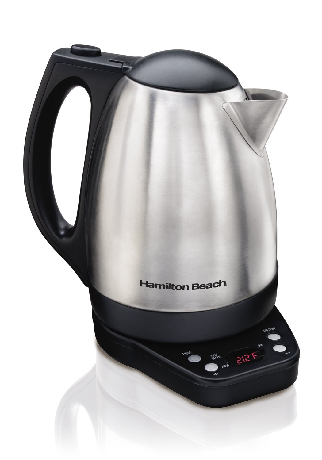 Hamilton Beach Electric Kettle ~ Best liter electric kettle boiling water easily