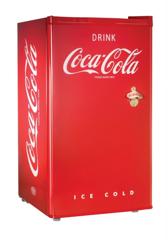 Nostalgia Electrics RRF300SDBCOKE Coca Cola Series Compact Refrigerator