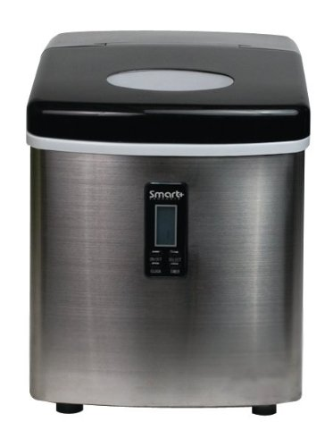 Smart+ Products SPP15AIM Portable Stainless Steel Ice Maker