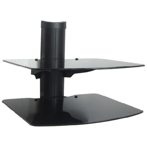 2 Shelf Wall Mount Bracket for LCD LED and Plasma TV