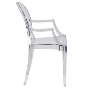Clear Chair - Combination of beauty and comfort