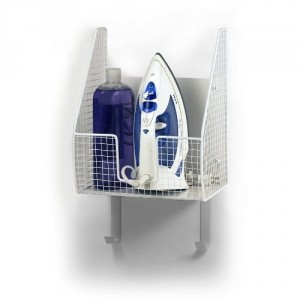 Wall Mount Iron and Board Holder - Great addition to your laundry room