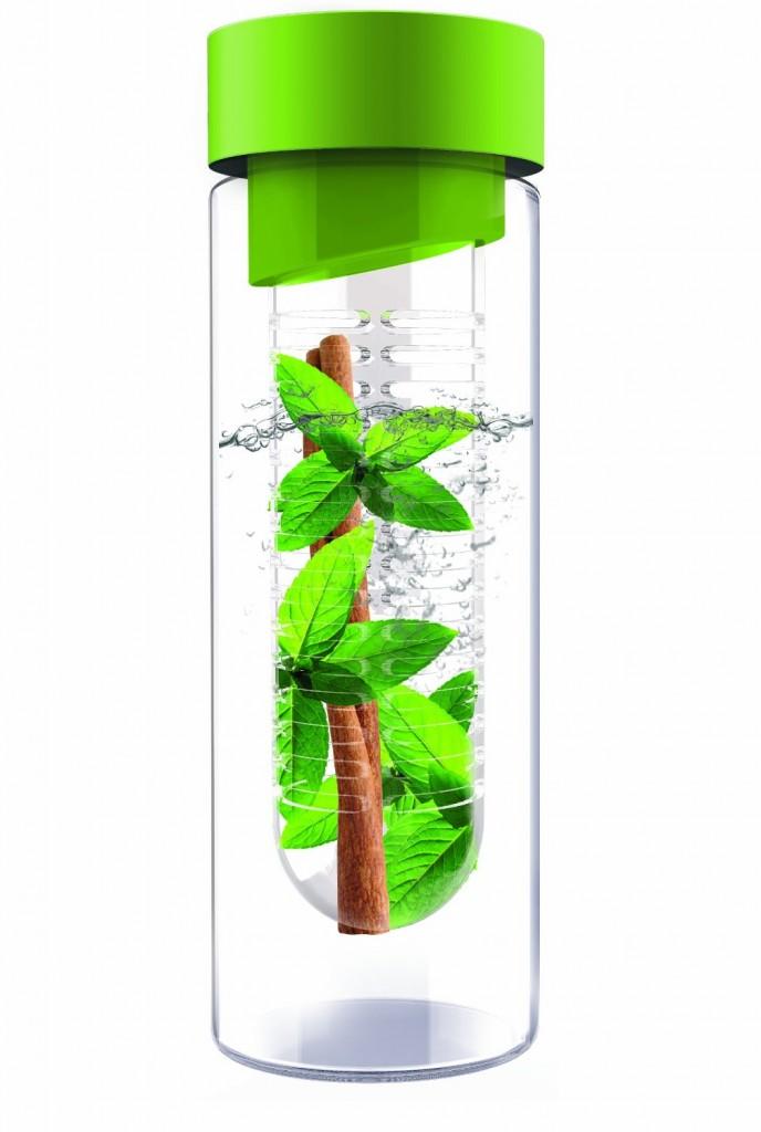AdNArt Flavour It Glass Water Bottle