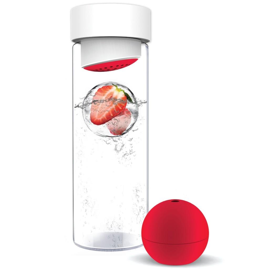 AdNArt Glass Water Bottle
