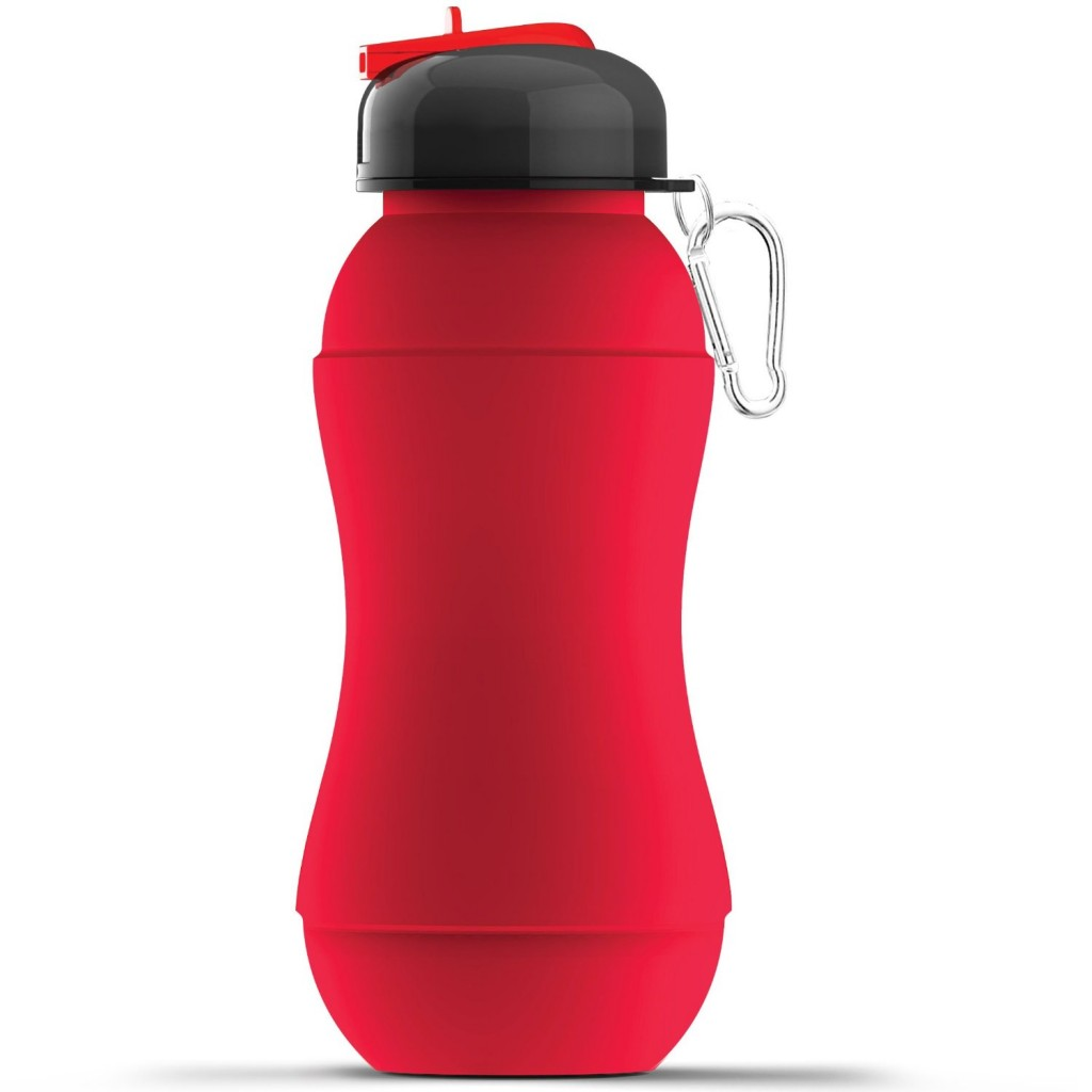 AdNArt Sili-Squeeze Collapsible Silicone Hydra Bottle