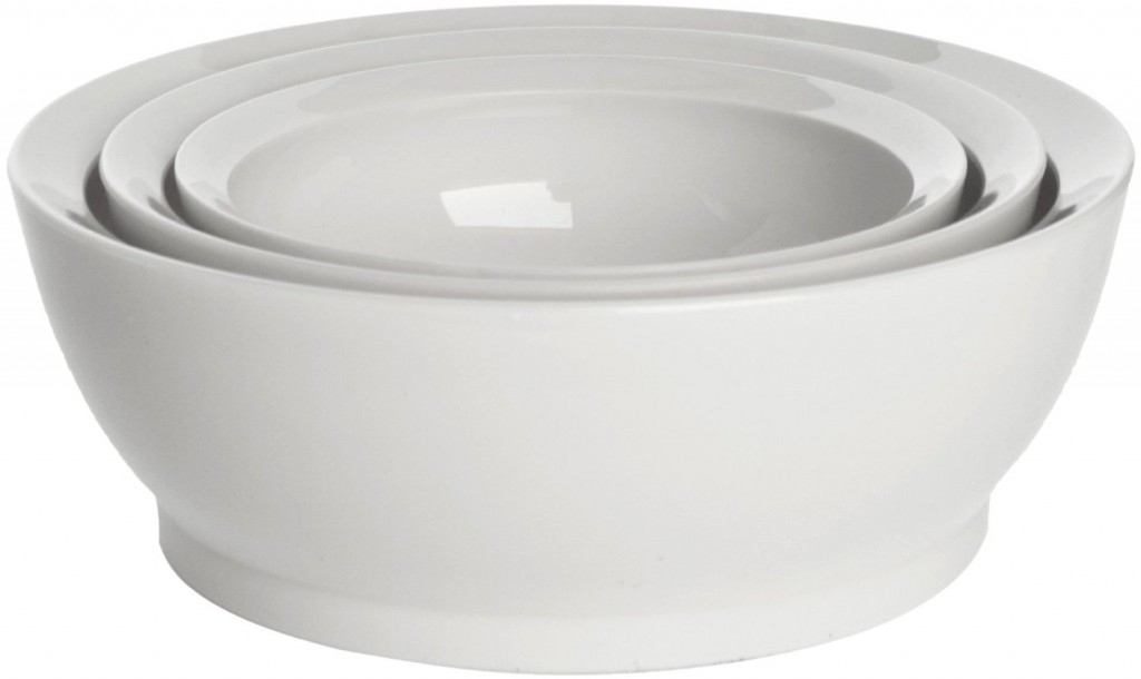 CaliBowl Nested Non-Spill Low Profile Bowls