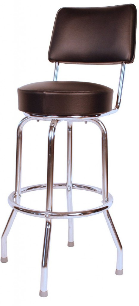 Heavy Duty Swivel Bar Stool