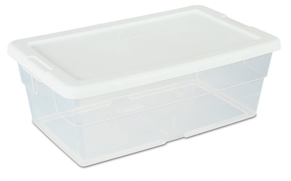 Sterilite 16428012 6-Quart Storage Box