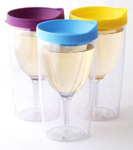 Insulated Wine Tumbler - Enjoy your wine anywhere