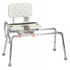 Sliding Transfer Bench - Great gift for those with limited mobility