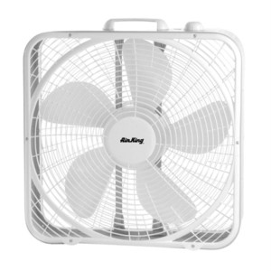 Box Fan - Great companion on those hot summer days