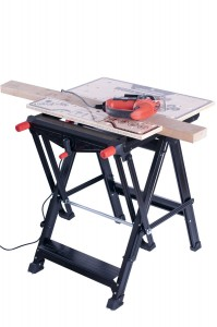 Folding Workbench - Ultimate accessory for home improvement enthusiast