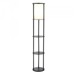 Adesso Shelf Floor Lamp - Great storage and lighting solution