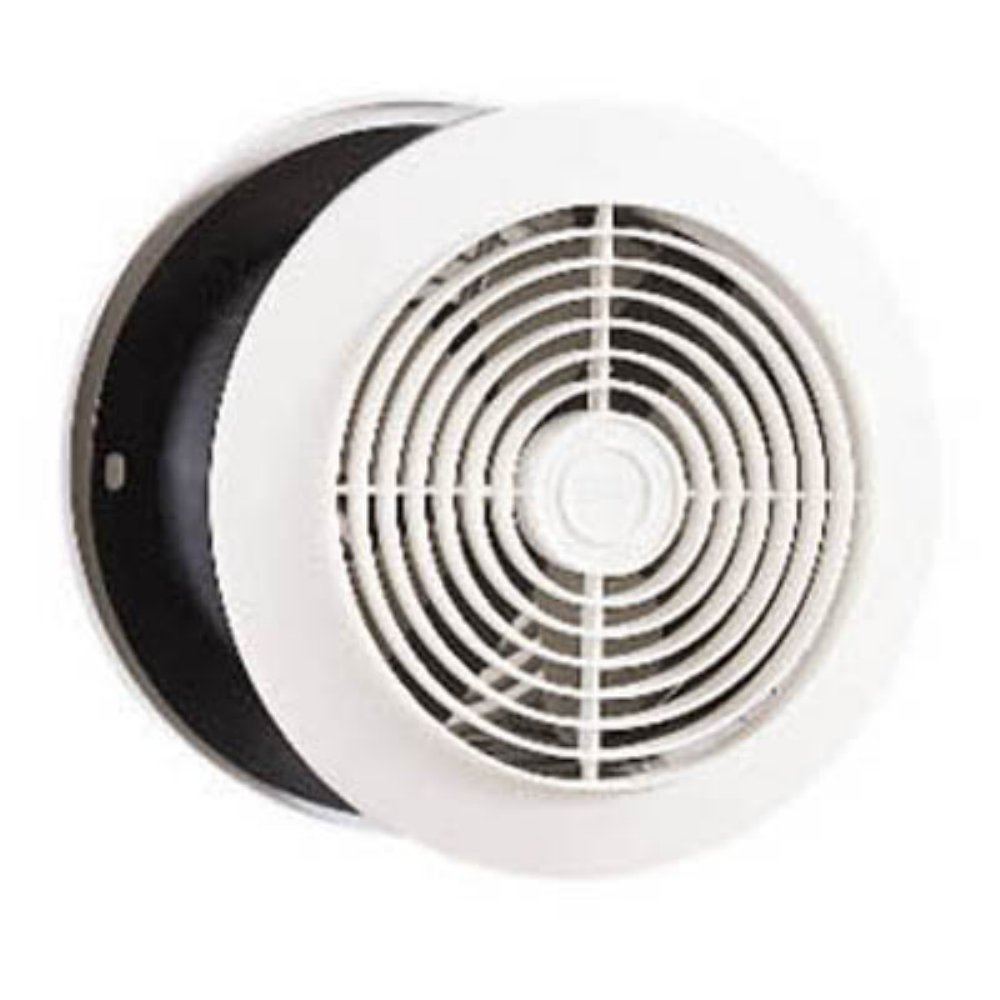 Broan 512 6-Inch Room-to-Room Utility Fan, 8-Inch Round Plastic ...