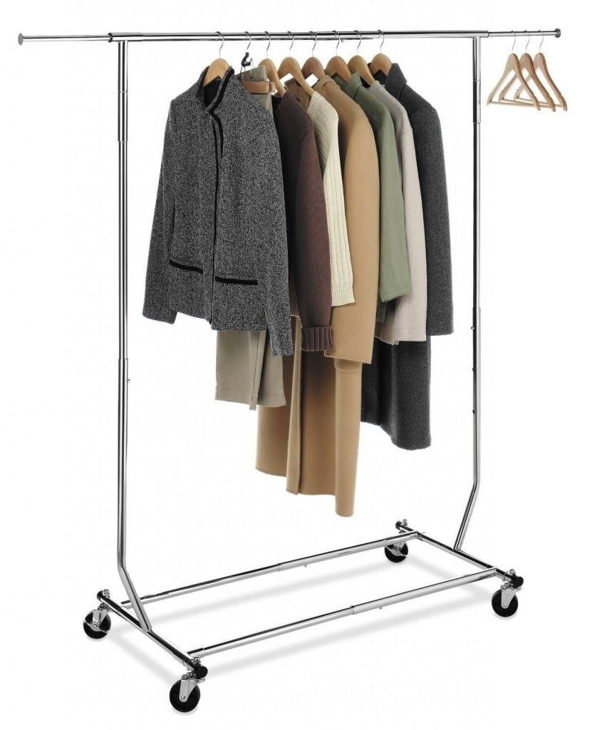 5 Best Rolling Garment Rack – Make the laundry routine ...