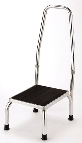 Essential Medical Supply Chrome Plated Foot Stool