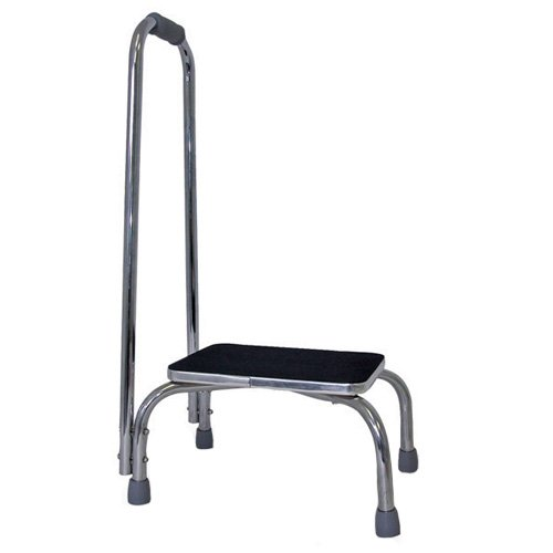 Footstool w  Support Handle
