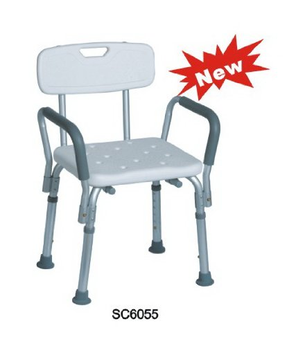 5 Best Shower Chair with Arm and Back – Feel secure and ...