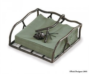 Flat Napkin Holder - Clean napkins are always available