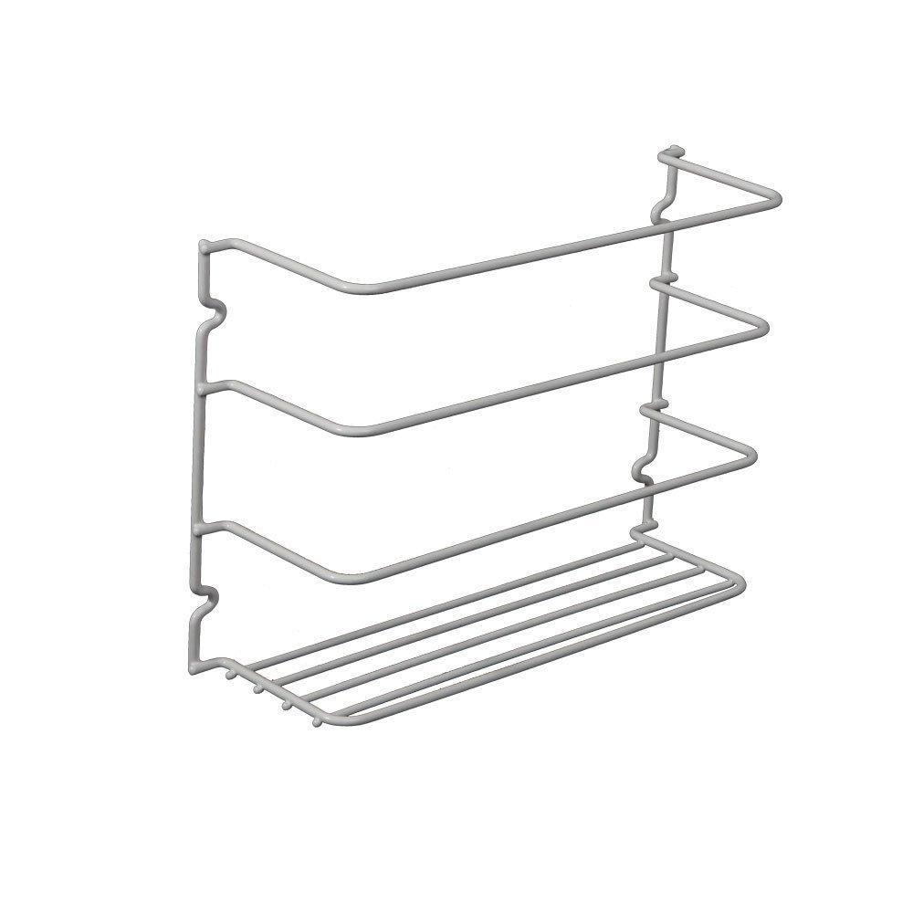 5 best kitchen wrap organizer a helpful addition in the for Under shelf basket wrap rack