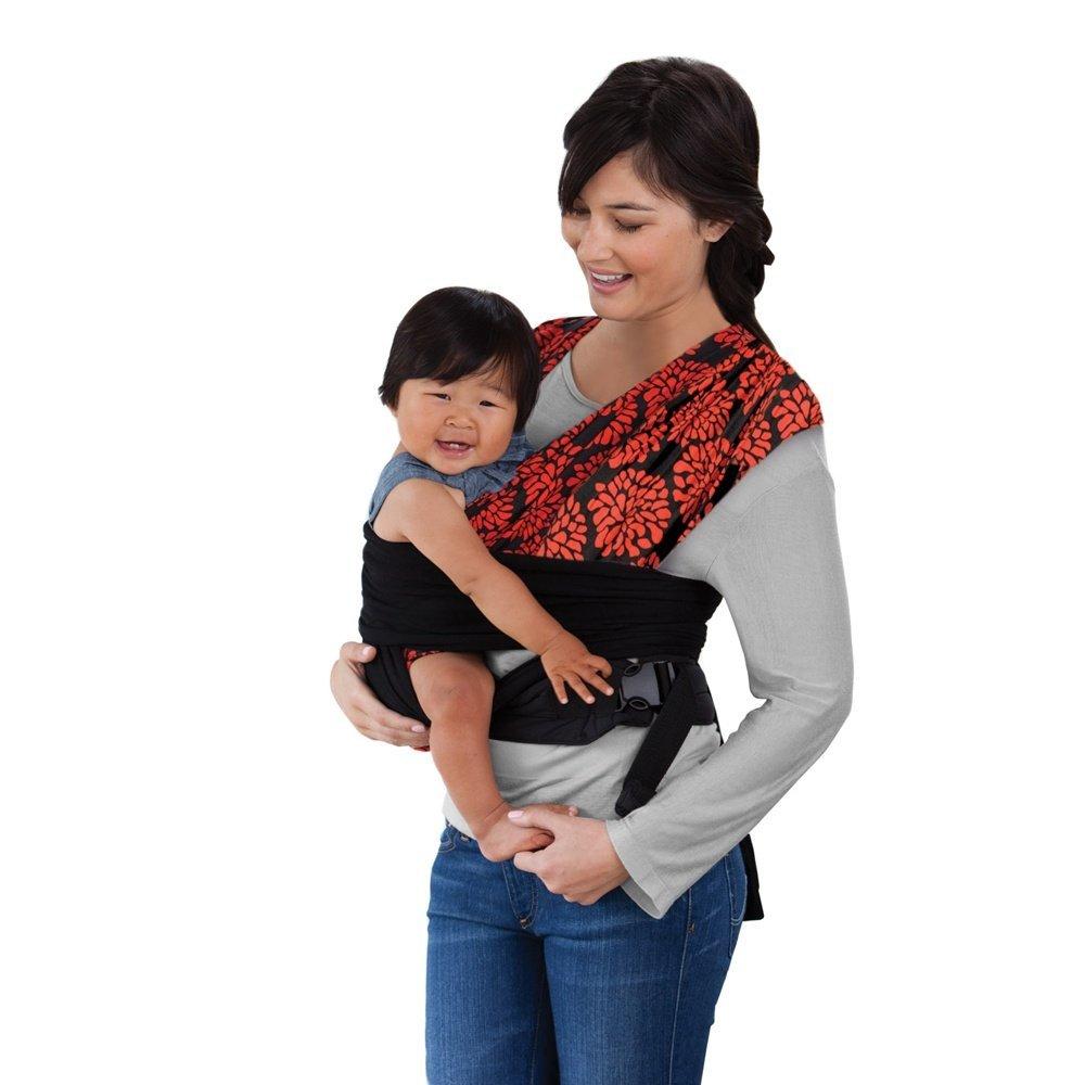 Infantino Sync Comfort Wrap Carrier Black