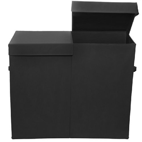 5 best double hamper with lid say goodbye to a cluttered room tool box - Modern hamper with lid ...