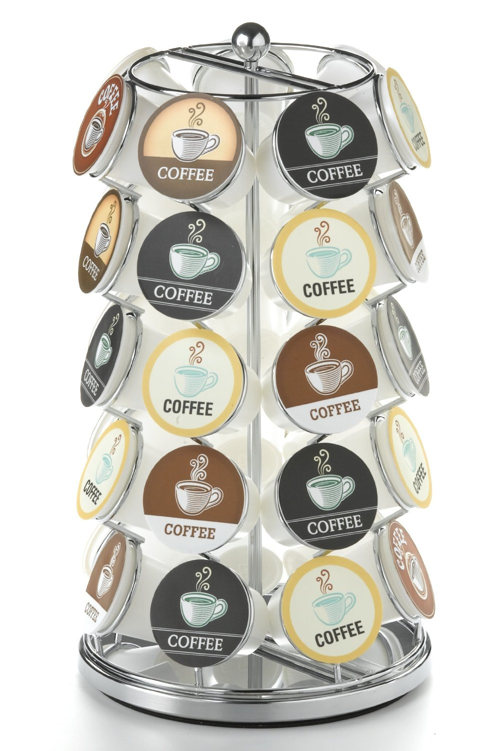 5 Best K Cup Carousel Perfect Way To Display Your K Cups Tool