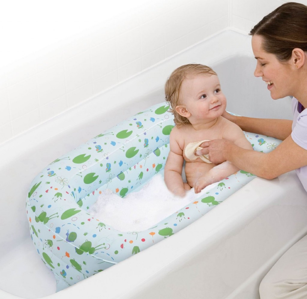 5 Best Inflatable Tub - Bathe baby in a safe, padded space ...