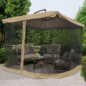 Umbrella Table Screen - Keep pests from bothering your outdoor fun