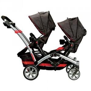 Tandem Stroller - Make travel with your kids easier
