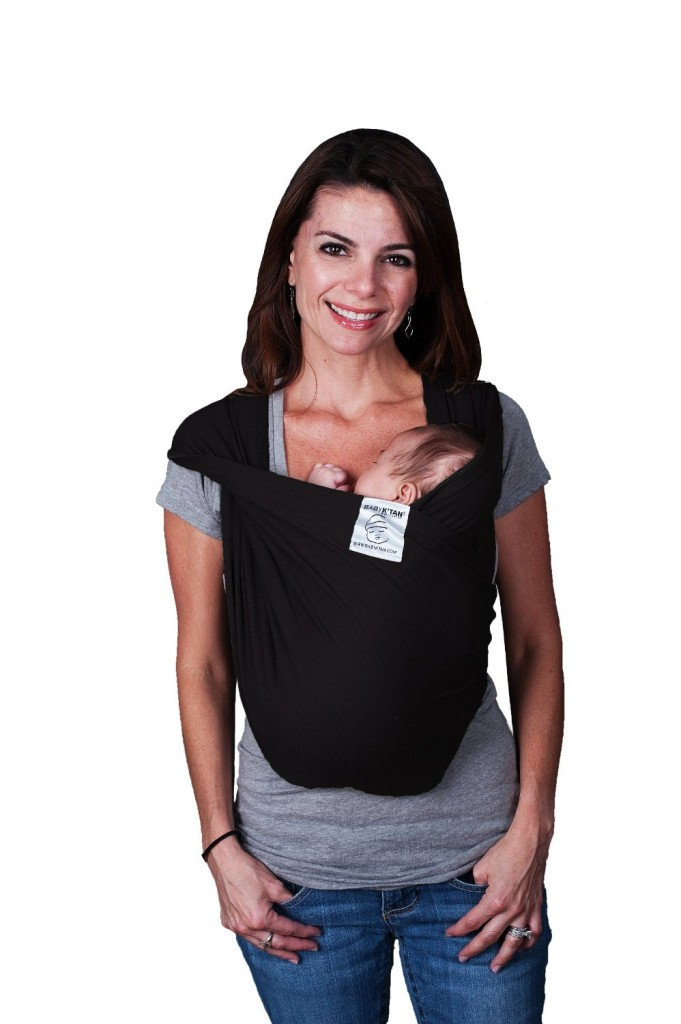 Baby K tan Baby Carrier