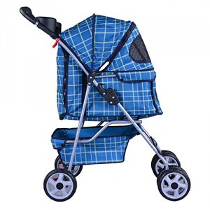 Four Wheel Pet Stroller - Make taking you pet out easier and more comfortable