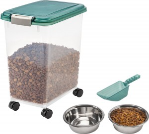 IRIS Pet Food Storage - Your pet's food will always be dry and fresh