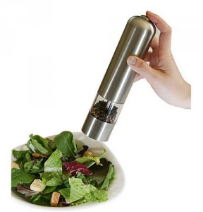 Battery Operated Pepper Grinder - Add an exciting flavor to your day