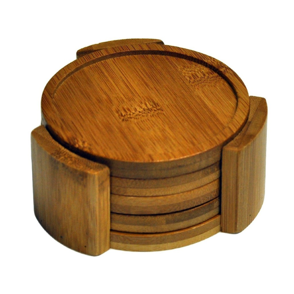 5 best wood coaster set potect your table no matter what for Best coasters for sweaty drinks