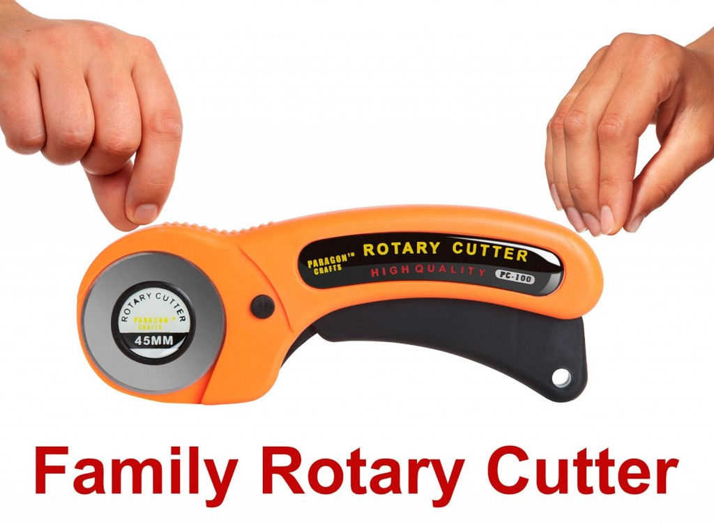 Paragon Crafts Multipurpose Rotary Cutter with 45 mm Blade