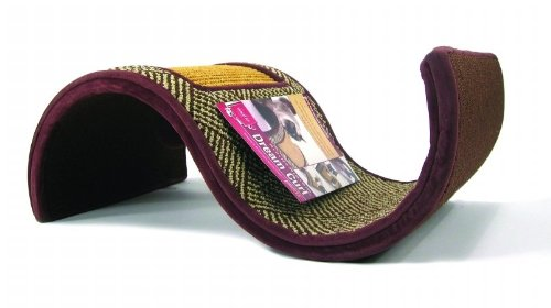 5 best cat scratching wave save your furniture while for Curved cat scratcher