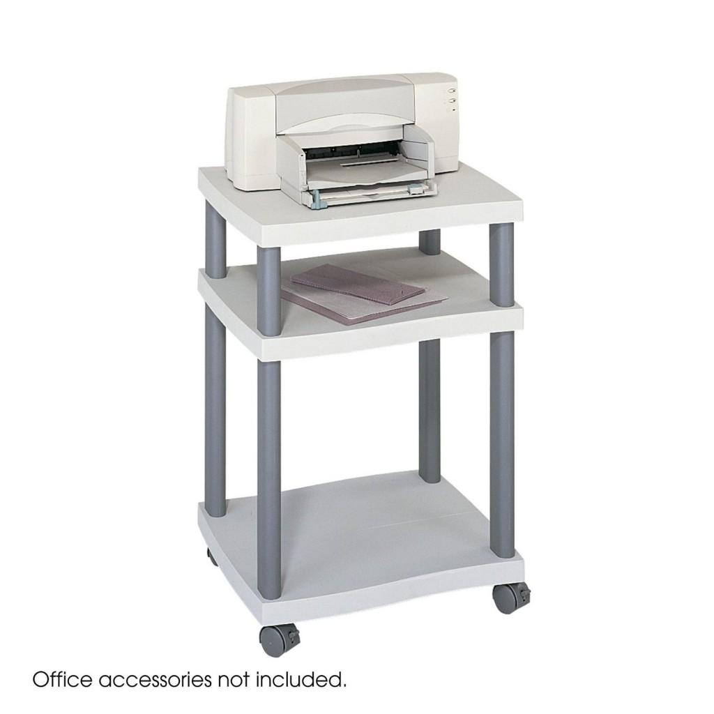 Safco Products Wave Deskside Printer Stand