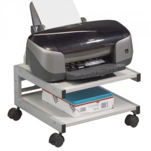 Underdesk Printer Stand - Make your workday run more smoothly