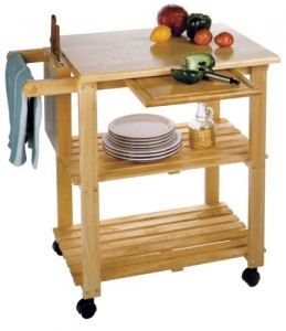 Winsome Wood Kitchen Carts - Nice choice for a small kitchen