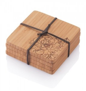 Wood Coaster Set - Potect your table no matter what beverage you may be drinking
