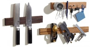 Wood Magnetic Knife Holder - Great addition to any kitchen