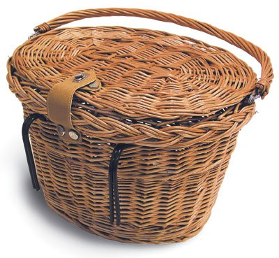 Basil Denver Wicker Oval Basket