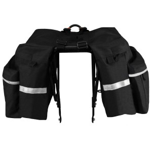 Bike Panniers - Turns your bike into a fast - moving pack horse