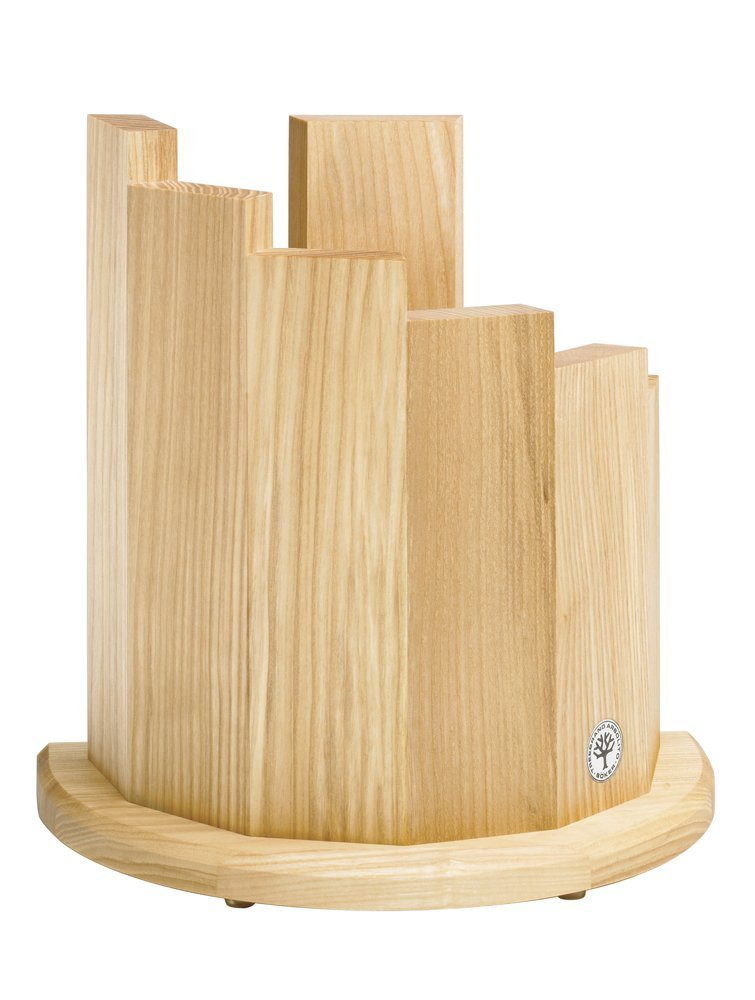 Boker Wood Magnetic Knife Block, Olive