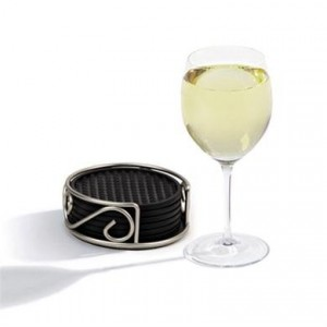 Coasters With Holder - Functional solution to protect your surfaces