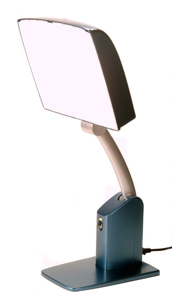 5 best light therapy lamp no more winter blues and sad. Black Bedroom Furniture Sets. Home Design Ideas