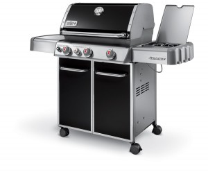 Liquid Propane Gas Grill - Preparing a meal is easy now