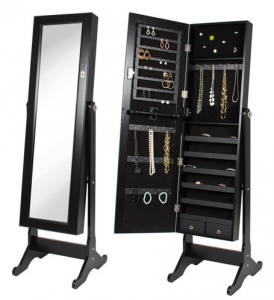 5 Best Jewelry Armoire Mirror – Organize your jewelry and make finding the matching earrings easier